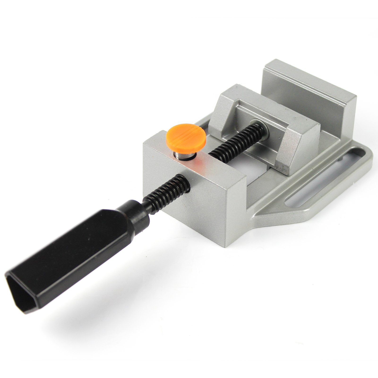 PANGOLIN Drill Press Vise, Quick Release Clamp Vice Light Duty Perfect for Woodworking,Crafts or Handyman,Small Projects and Keep with 3 Year Warranty