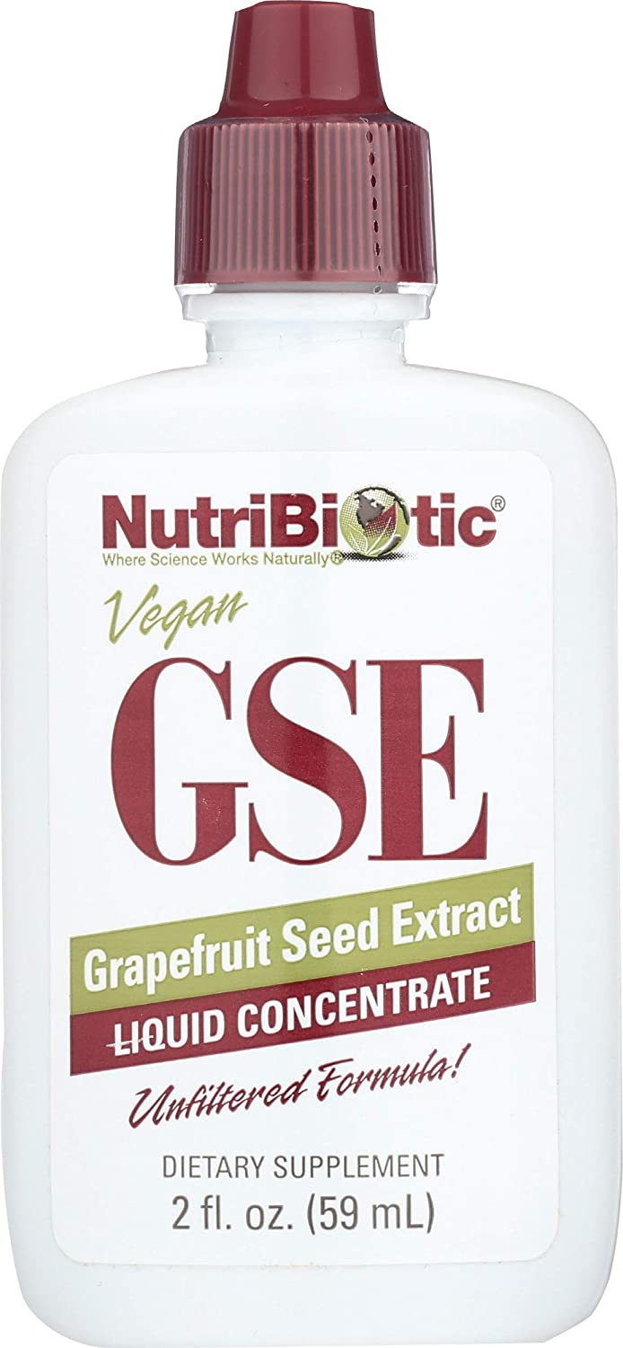 Nutribiotic Gse Liquid Concentrate, 2 Fl Oz (Pack of 1): Health & Personal Care