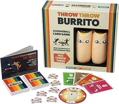 Throw throw Burrito Juego de cartas Adecuado para 2-6 personas ...