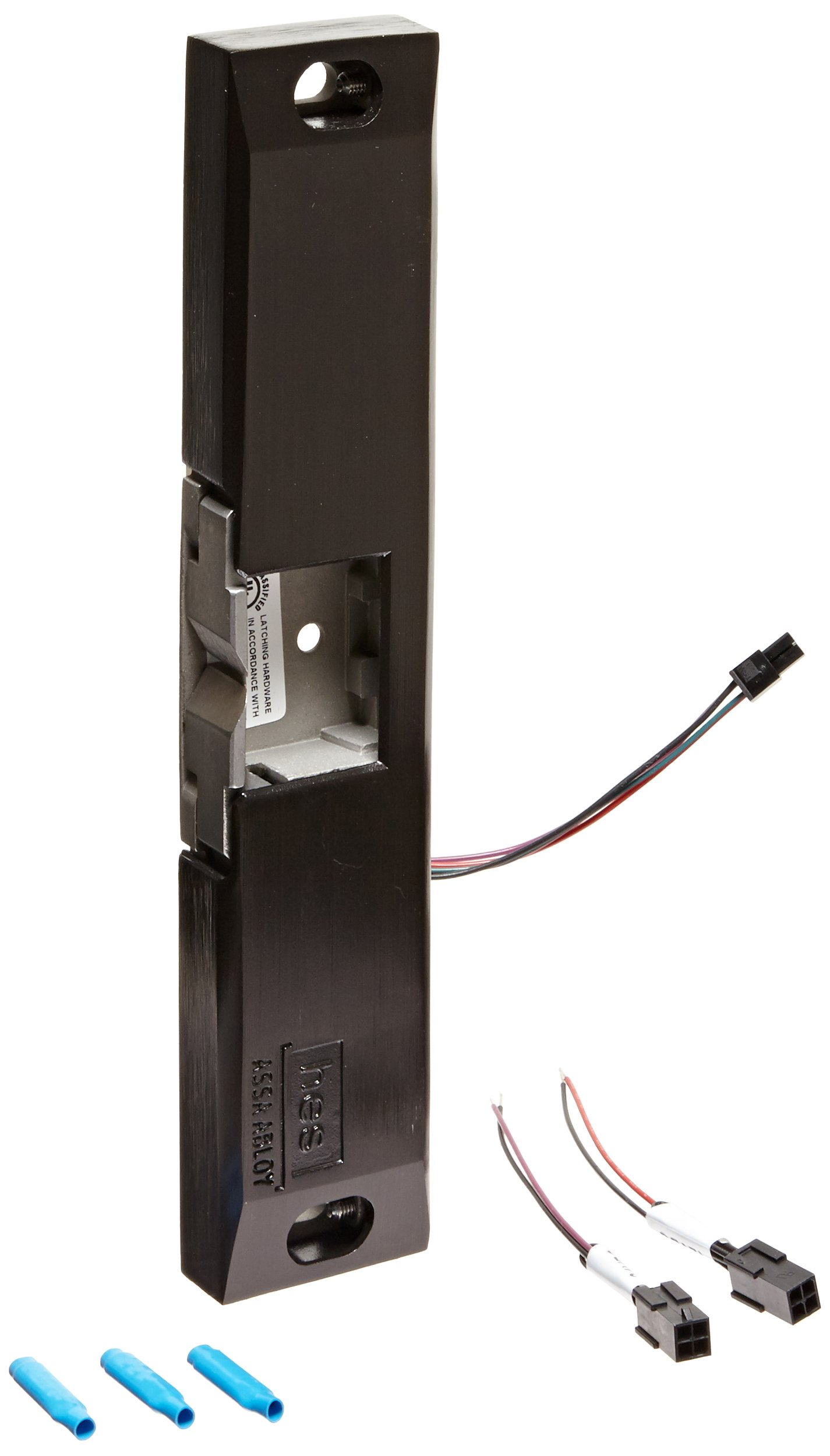 HES 9600 Series Stainless Steel Fire Rated Surface Mounted Electric Strike Body for Rim Exit Devices, Bronze Toned Finish