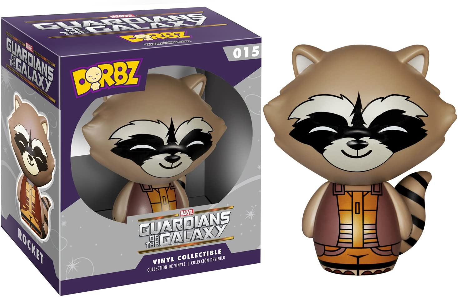 Gardiens de la galaxie rocket raccoon Funko dorbz figurine En Vinyle NEUF /& en stock