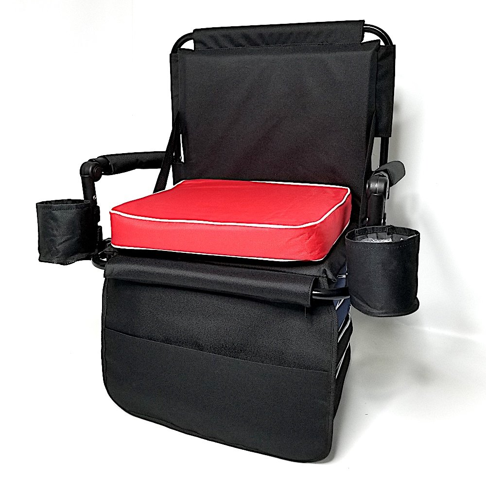 Oasis SAME DAY SHIPPING HEAVY DUTY Construction-w/REMOVABLE CUSHION, CELL PHONE AND DRINK HOLDERS.BUY TWO CHAIRS AND RECEIVE A BONUS BLANKET!!