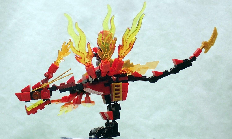 Amazon.com: MyBlockStars Ninja Dragon: Toys & Games