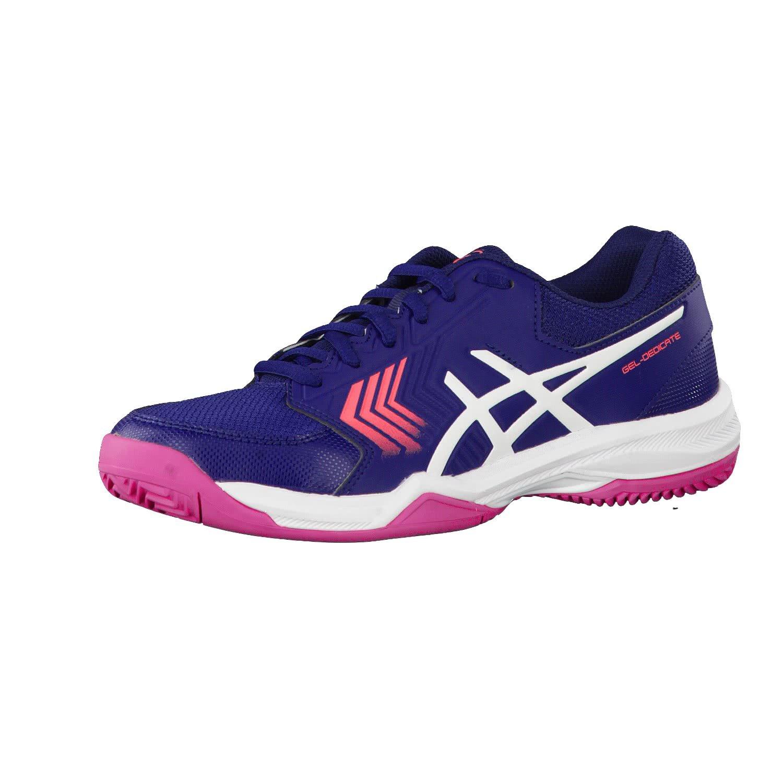 ASICS Damen Gel-Dedicate 5 Clay Gymnastikschuhe Scuro Blau Rosa