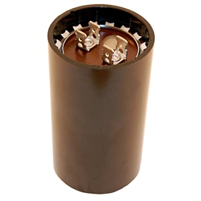 """NTE Electronics MSC125V540 Series MSC Motor Start AC Electrolytic Capacitor, Two 0.250"""" Quick Connect Terminals, 540-648 µF Capacitance, 110/125V: Industrial & Scientific"""