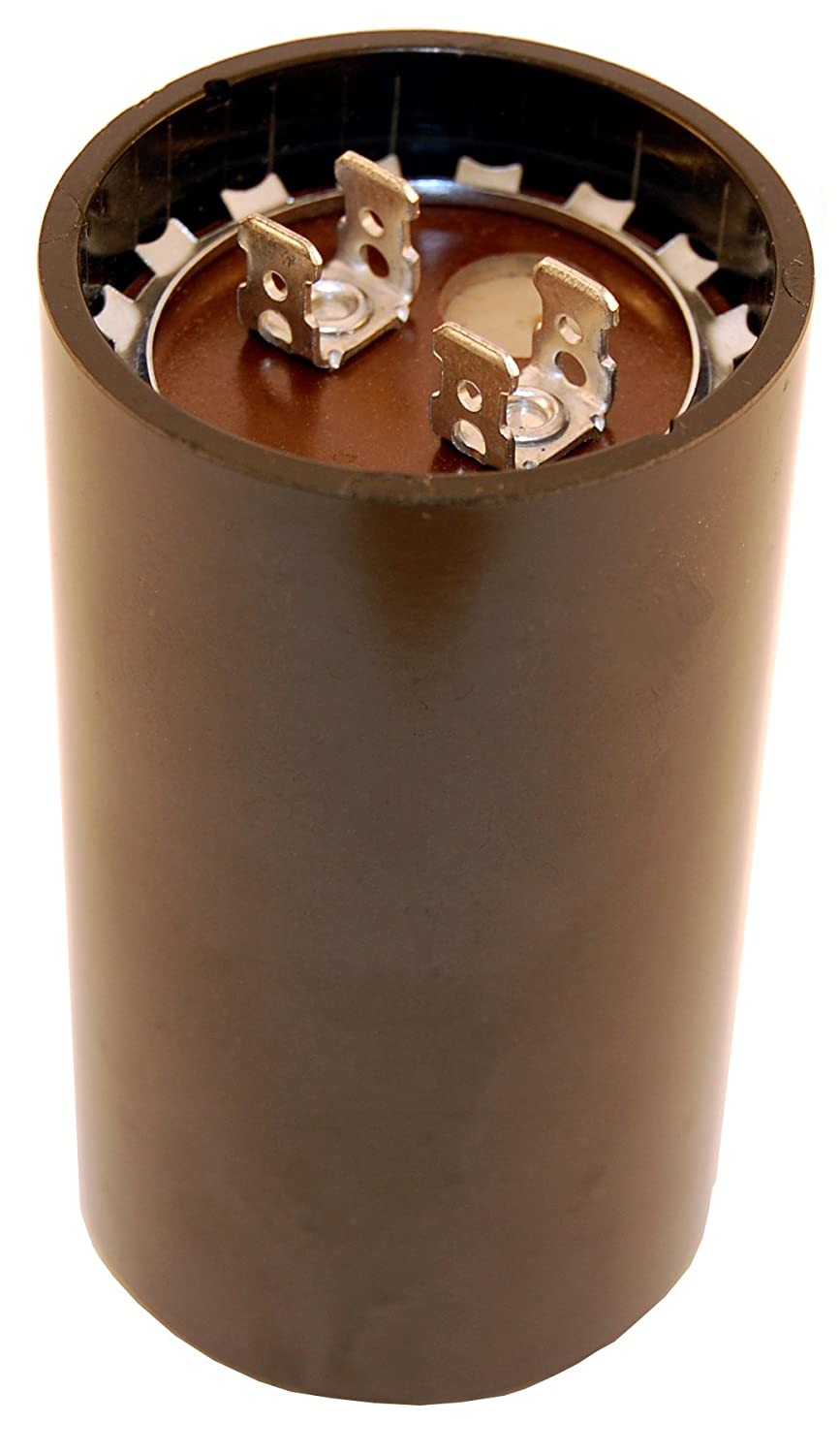 NTE Electronics MSC250V53 Series MSC Motor Start AC Electrolytic Capacitor, Two 0.250' Quick Connect Terminals, 53-64 µ F Capacitance, 220/250V Two 0.250 Quick Connect Terminals Inc.