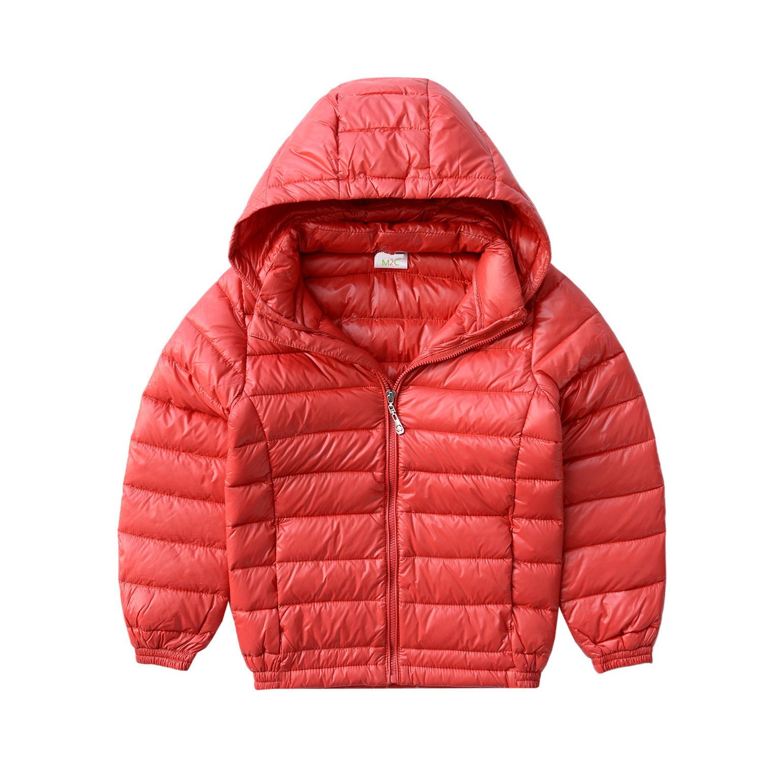 M2C Boys Ultralight Packable Down Bubble Jacket with Hood