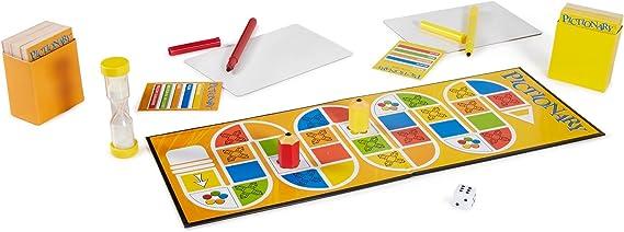 Mattel Games Pictionary Juego de Mesa de Palabras - Juego de Tablero (Juego de Mesa de Palabras, Niño/niña, 8 año(s)): Amazon.es: Juguetes y juegos