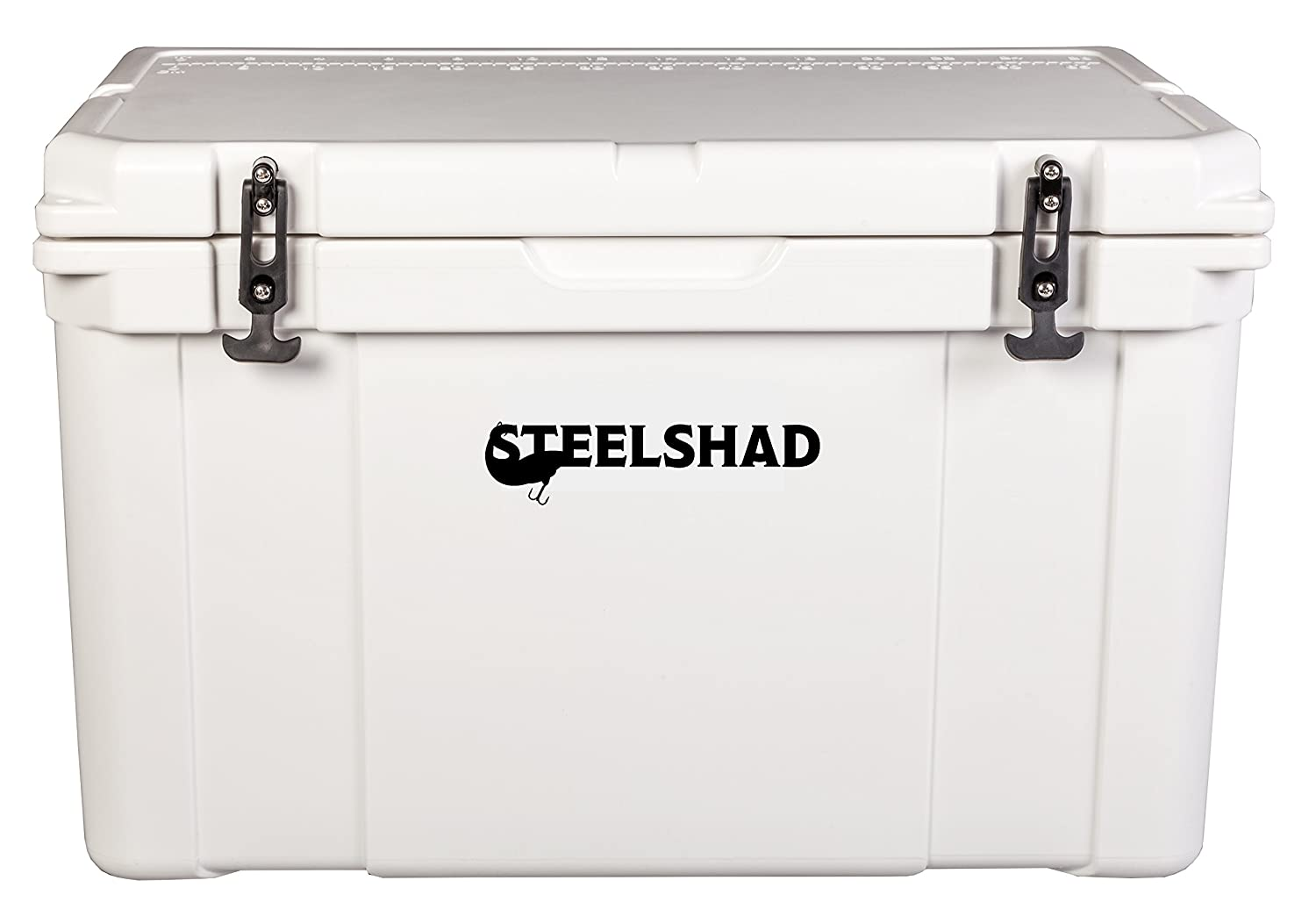 SteelShad Super Cooler – Hard Cooler Keeps Drinks Ice Cold. Perfect Cooler for Fishing, Hunting and Camping – 50L