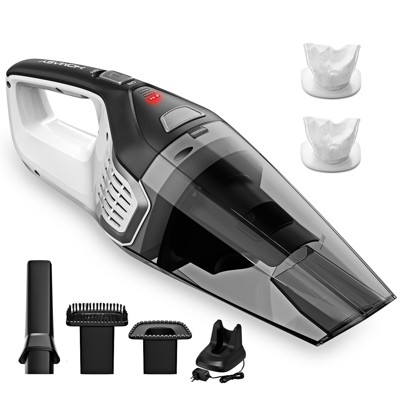 Homasy Portable Handheld Vacuum Cleaner Cordless Powerful