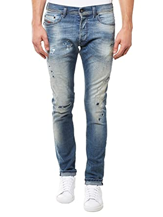 9f5a6791 Diesel Tepphar 854Z Jeans 0854Z Tapered Skinny Fit: Amazon.co.uk: Clothing