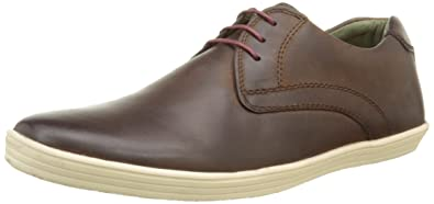 Lacées ConcertChaussures Brown Base London HommeMarronwaxy K1JcTlF3