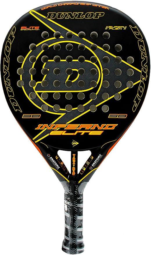 Pala de pádel Dunlop Inferno Elite Black: Amazon.es: Deportes y ...