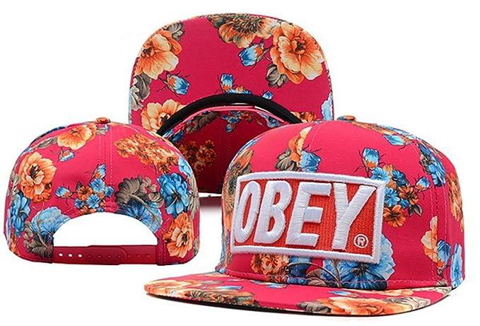 Andreanna Navarrete Obey Gorra Hombres y Mujeres Sombreros de gorra de  béisbol talla única  Amazon.es  Ropa y accesorios 71942ed12c9