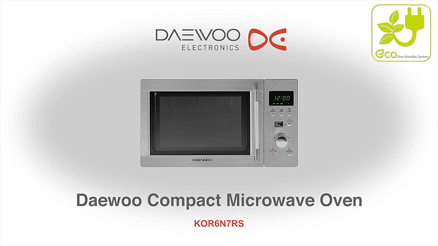 Daewoo KOR6N7RS Touch Control Solo