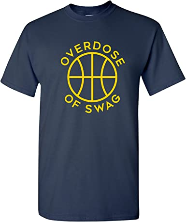 UGP Campus Apparel Overdose of Swag - Camiseta de Torneo de Baloncesto Michigan