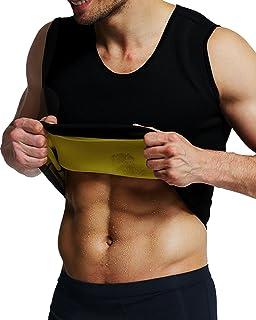 0e61d05095c92d IFLOVE Sweat Vest for Men Weight Loss Neoprene Sauna Suit Body Shaper Tank  Hot Top Tummy
