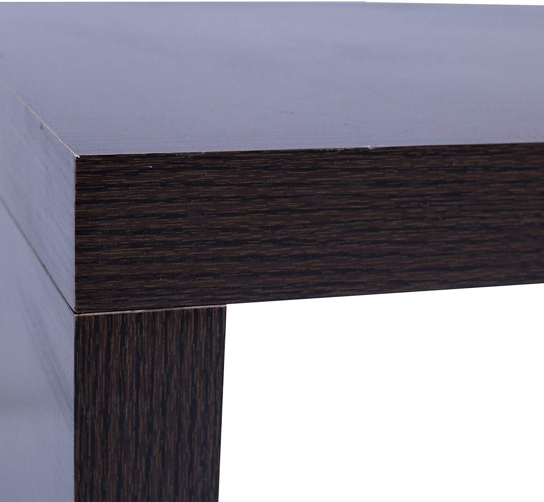 Arredamento Cod Re6021 Mobili Rebecca Tavolo Tavolino Soggiorno Marrone Scuro Legno Design Contemporaneo Casa E Cucina Laaldeasanicolas Es