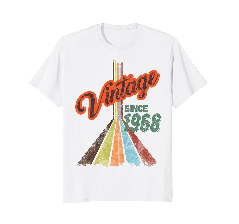 50th Birthday Shirt For Men Women Gift T-shirt Vintage 1968-Awarplus
