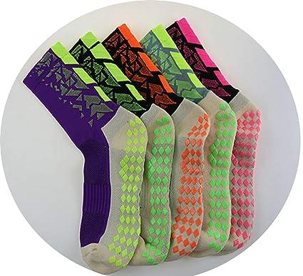 Daesar Calcetines Antideslizante Calcetines Fútbol Calcetines Deportivos Ciclismo Calcetines 39-44 Calcetines 5Pares Colorido: Amazon.es: Ropa y accesorios