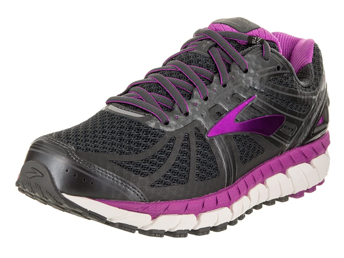 2bc1d1a49d9fe Brooks Women s Ariel  16 Anthracite Purple Cactus Flower Primer Grey 7 EE  US  Amazon.co.uk  Clothing