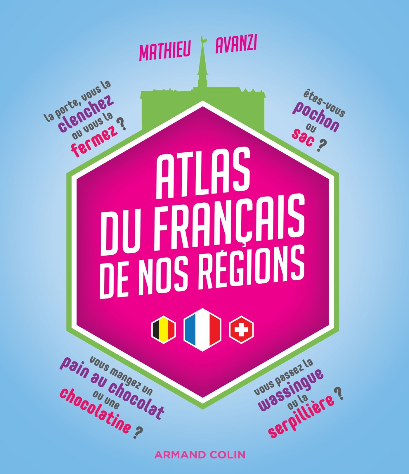 Amazon Fr Atlas Du Francais De Nos Regions Mathieu