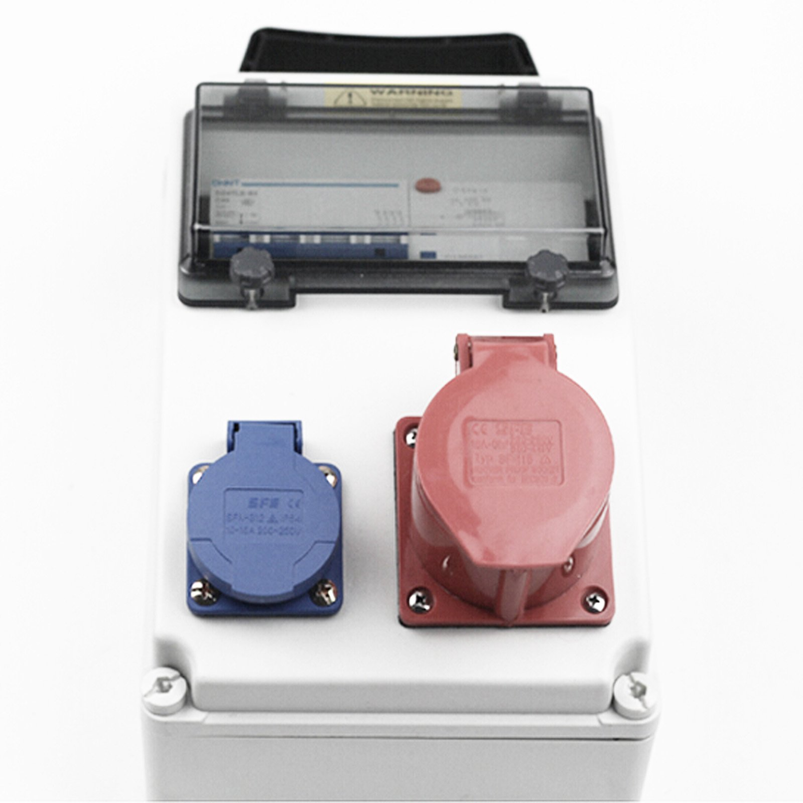 Portable Charger Box Plastic Socket Box Waterproof Distribution Box Fit for Tesla Motors