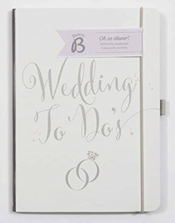 busy b bride to b a5 wedding to do planner book white amazon co