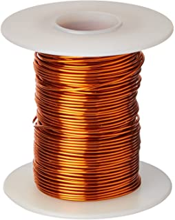 Amazon essex magnet wire 20 awg gauge enameled copper wire remington industries 20h200p25 20 awg magnet wire enameled copper wire 200 degree greentooth Images