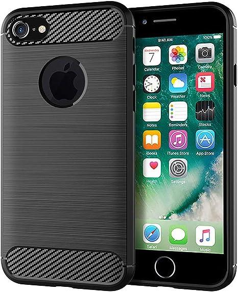 cover iphone 7 carbonio