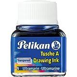 Pelikan 523/9 Flacon de Encre de chine 10 ml Bleu