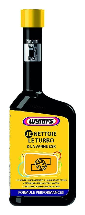 Wynns wh32020 je nettoie el Turbo y la válvula EGR, 500 ML: Amazon.es: Coche y moto