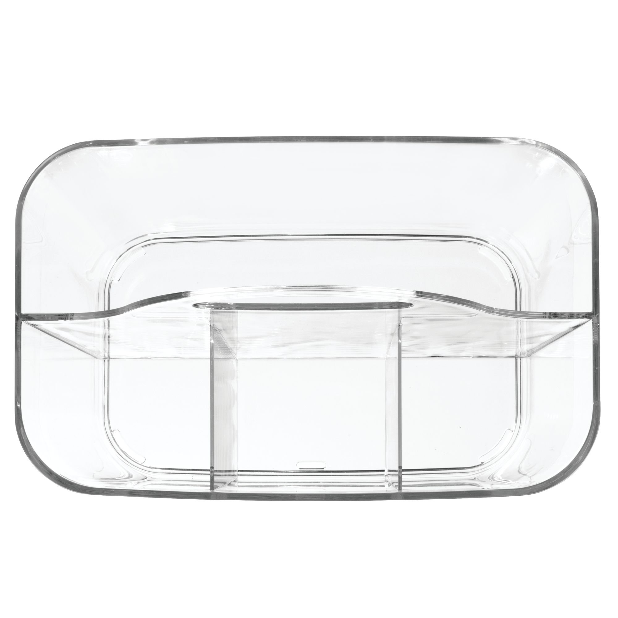 InterDesign Clarity Cutlery Flatware Caddy, Silverware, Utensil, and Napkin Holder - Clear by InterDesign (Image #6)