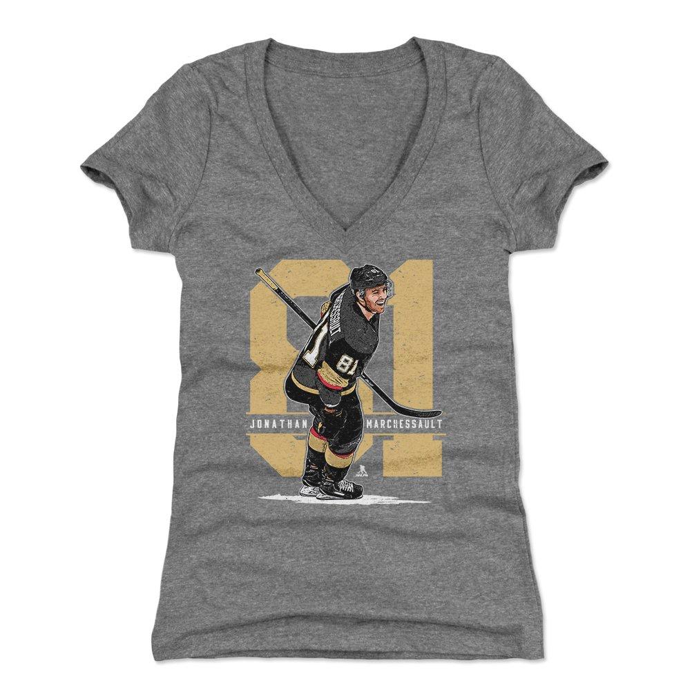 Amazon.com   500 LEVEL Jonathan Marchessault Women s Shirt - Vegas Hockey  Shirt for Women - Jonathan Marchessault Number   Sports   Outdoors 73c0e2471a