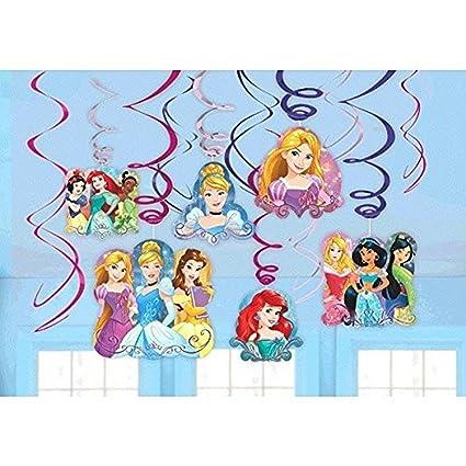 amazon com disney princess dream big party foil hanging swirl