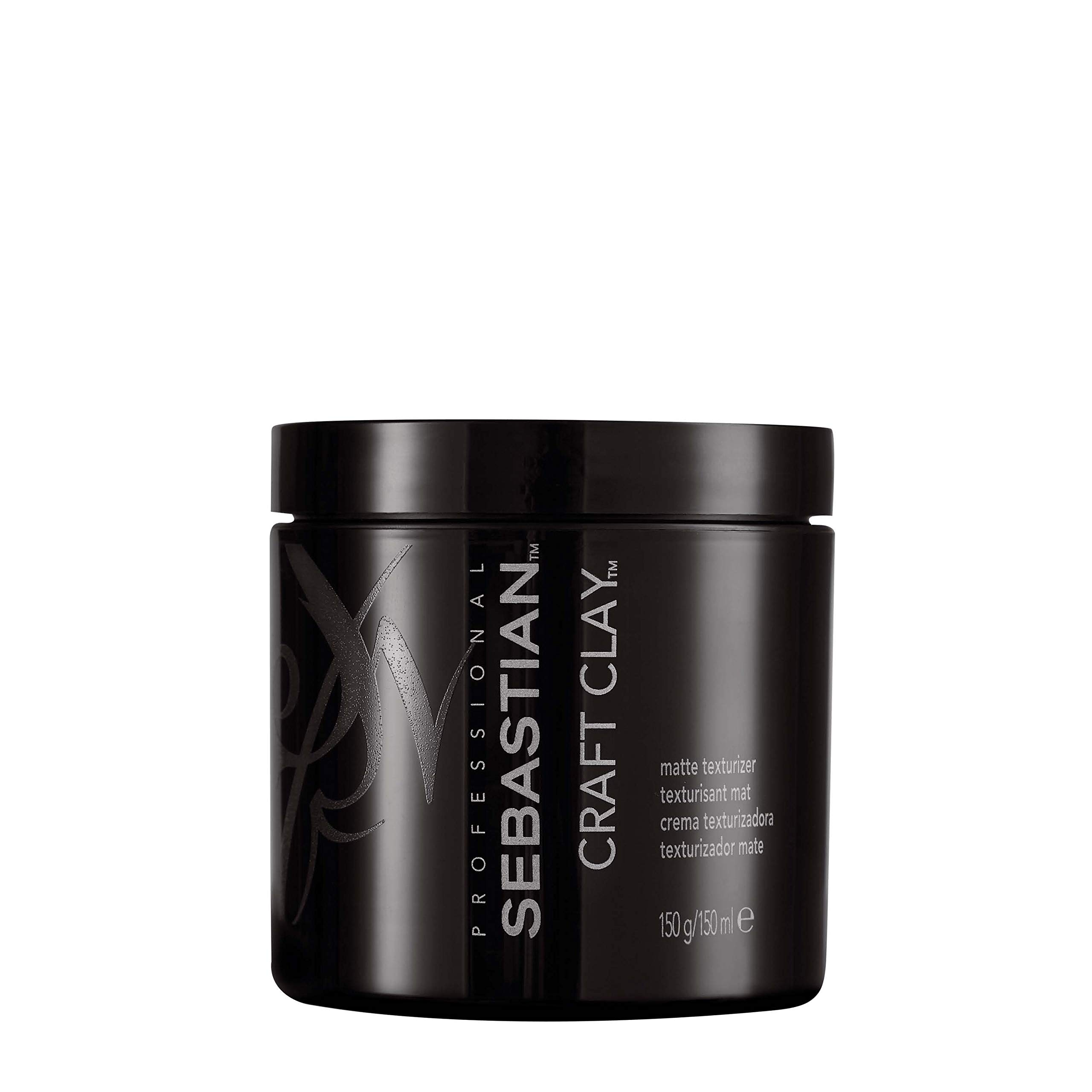 Sebastian Craft Clay Matte Texturizer, Remoldable Texturizing Hair Clay, 1.7 oz