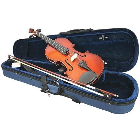 Primavera 100 - Juego de violín con arco y estuche (tamaño 1 ...