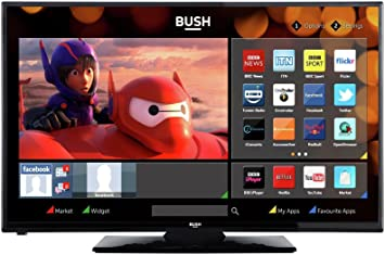 Bush DLED32265 32 Inch HD Ready Smart WiFi LED TV, [Importado de UK]: Amazon.es: Electrónica