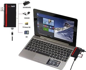 Amazon.com: Navitech 2 in 1 Laptop/Tablet USB 3.0/2.0 HUB ...