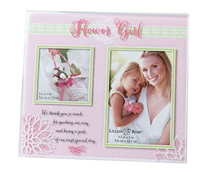 Amazon.com - Lillian Rose Flower Girl Picture Frame - Decorative ...