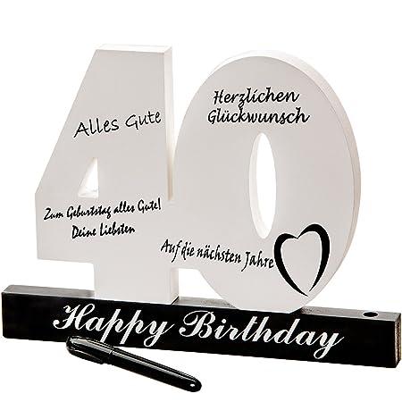 Número de cumpleaños del 40 cumpleaños individual Número de cumpleaños para etiquetar, todos los invitados se perpetúan en la fiesta 40