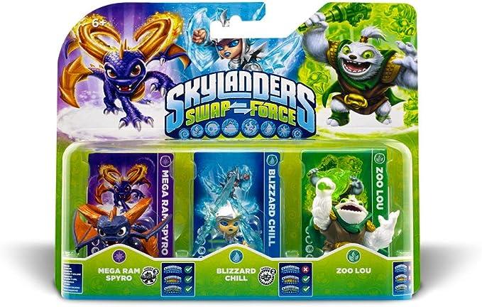 Skylanders: Swap Force - Triple Pack B: Amazon.es: Videojuegos