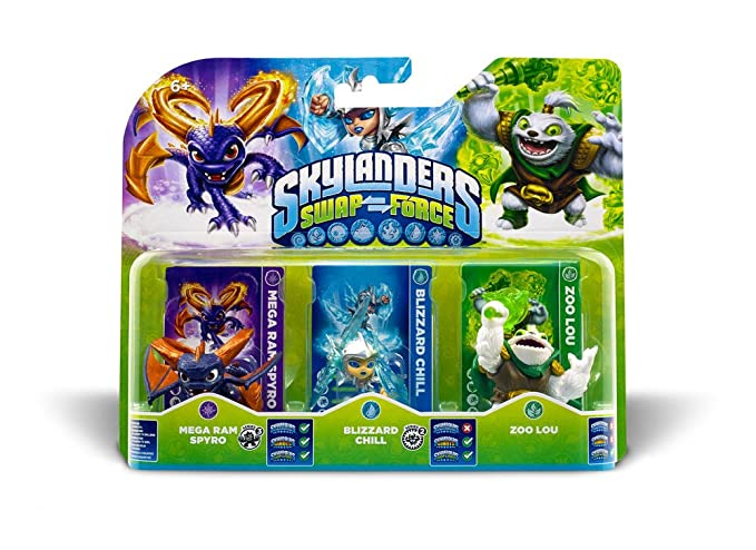 Skylanders: Swap Force - Triple Pack B: Amazon.es: Videojuegos