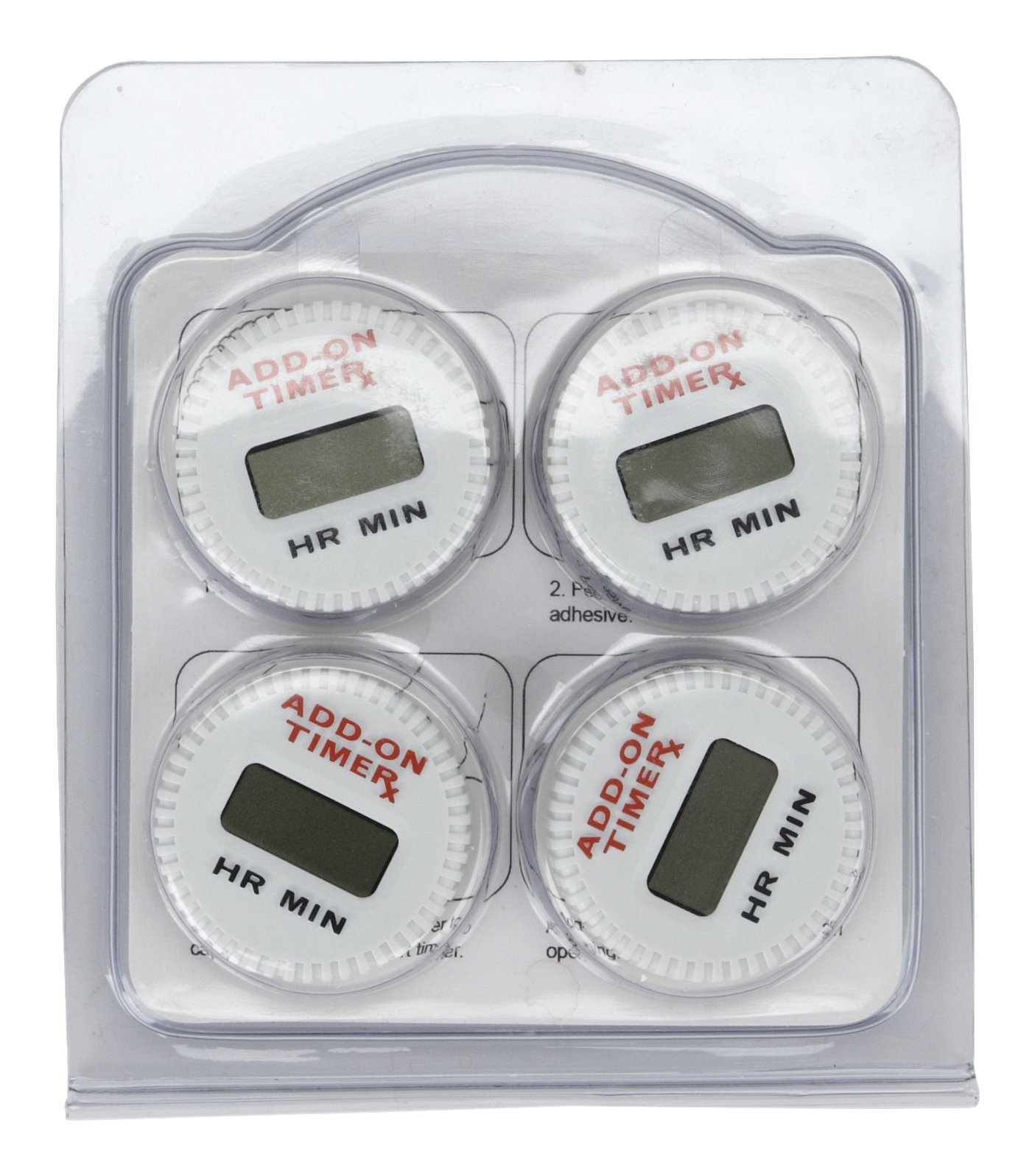 Medicine Bottle Add-On-Timer - Resets everytime you close your medication cap. (4)