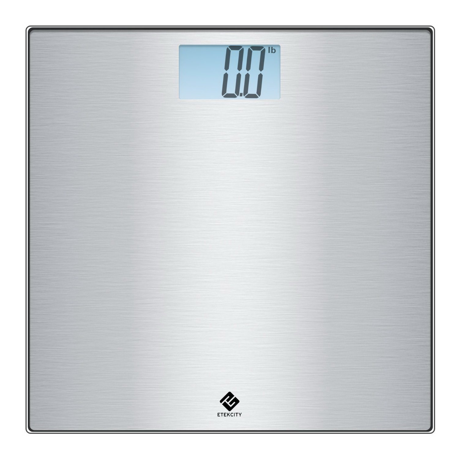 Etekcity Stainless Steel Digital Body Weight Bathroom Scale, Step-On Technology, 400 Pounds 783956542502