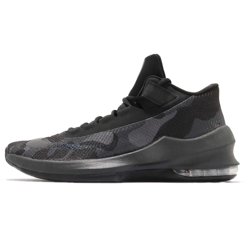 (ナイキ) エア マックス インフリエイト 2 ミッド プレミアム EP メンズ バスケットボール シューズ Nike Air Max Infuriate 2 Mid PRM EP AO6550-001 [並行輸入品] B07F15QKNX 27.5 cm BLACK/BLACK-ANTHRACITE