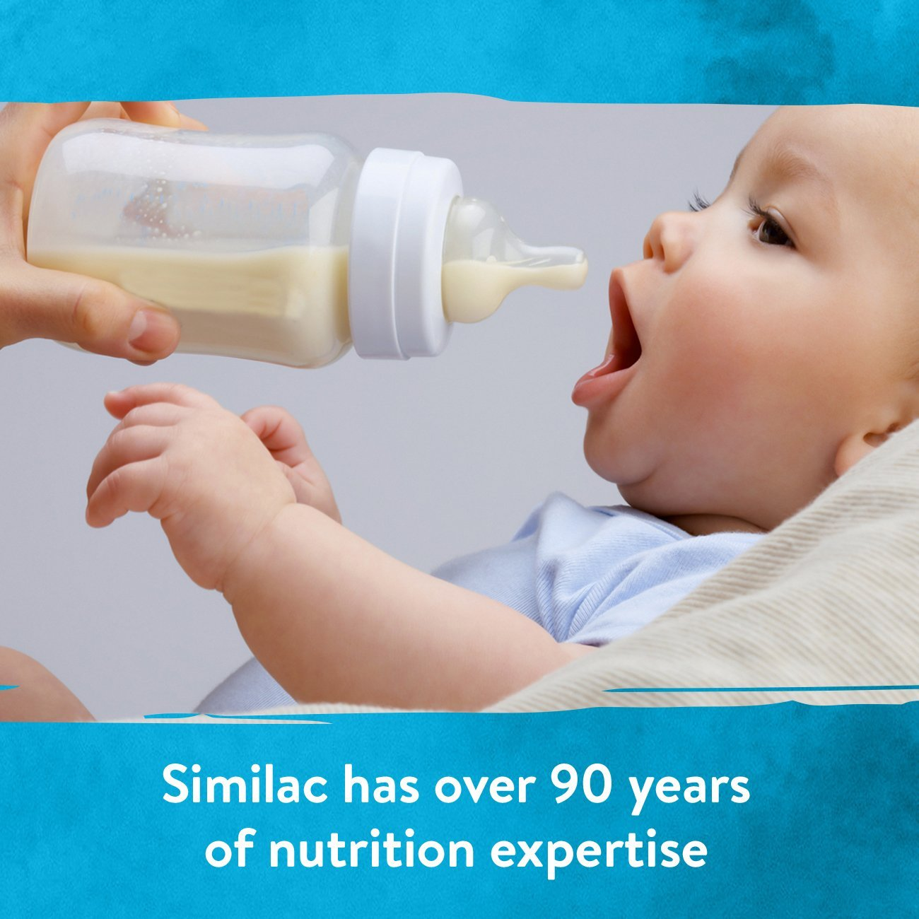 Similac For Supplementation Non-GMO Infant Formula with Iron, Powder, 23.2 Ounces (Pack of 4) by Similac (Image #5)