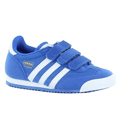 hot product fashion styles hot new products Adidas Dragon CF Blue Kids Trainers Size 10 UK: Amazon.co.uk ...