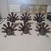 Amazon.com: Forup - Juego de 6 portavelas de metal con ...
