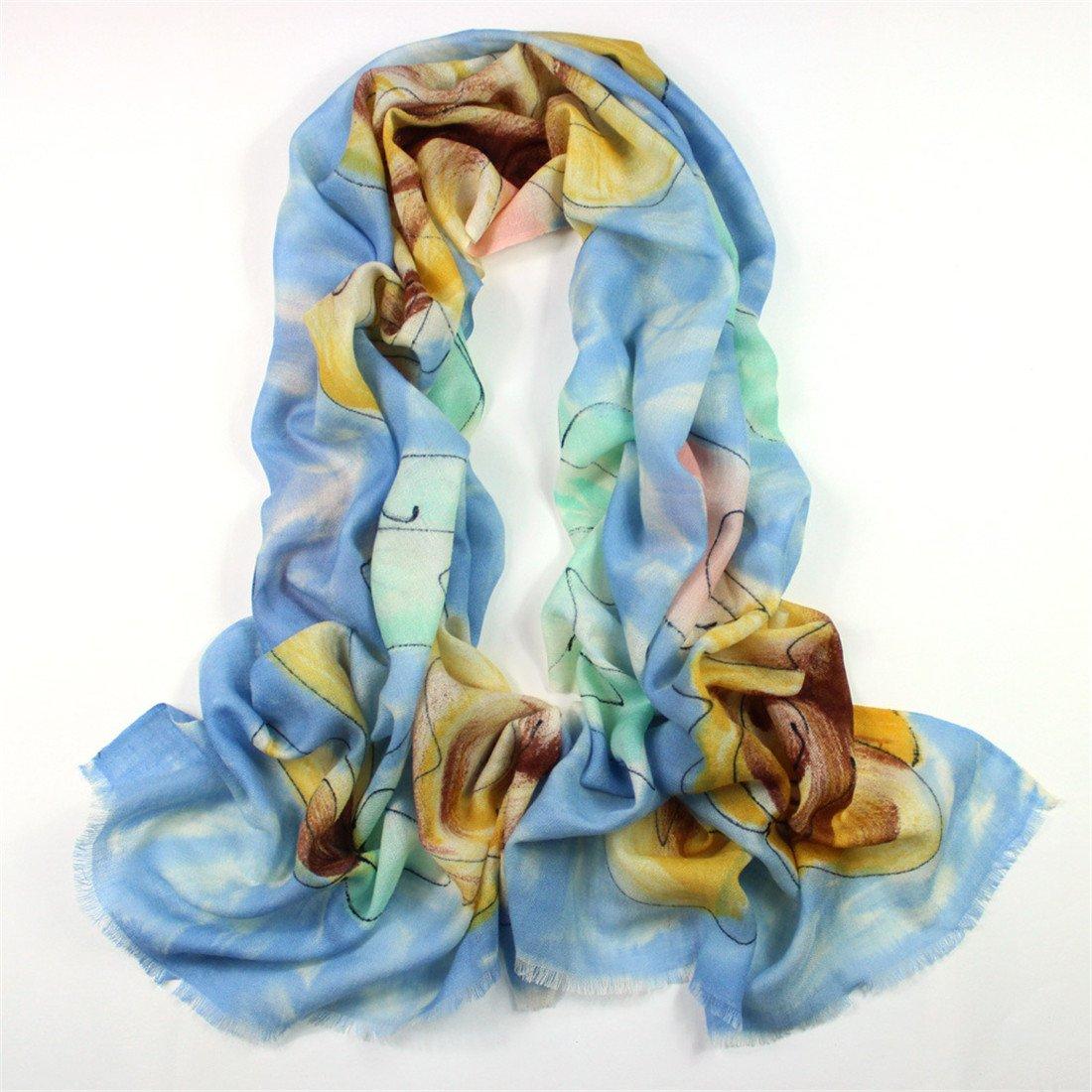 Baumwolle Schal Schal Lady Imitation Wolle Schal   Damen und Herbst Schal